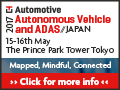 Autonomous Vehicle and ADAS Japan 2017