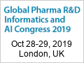 Global Pharma R&D Informatics and AI Congress 2019