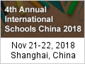 4th Annual International Schools China 2018
