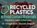 Recycled Plastics in Food Contact Materials 2019