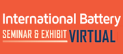 38th Annual International Battery Seminar & Exhibit Virtual